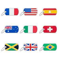 Arca di Noè - Medagliette My Family | Linea Flags